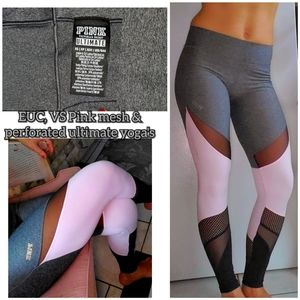 EUC, Vs pink ultimate mesh&perforated yoga's